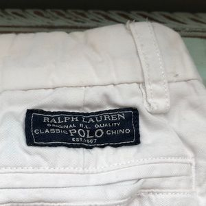 Polo by Ralph Lauren Bottoms - Polo Ralph Lauren White Pants size 5T